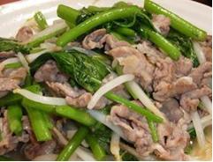 空心菜 豚肉